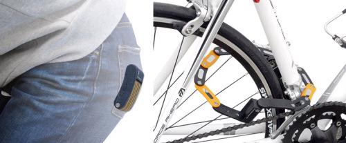 自転車カギ