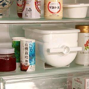 ぬか漬け器 「ぬか楽」は冷蔵庫にも入れられる