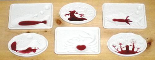 醤油絵皿「リメンバー津波」