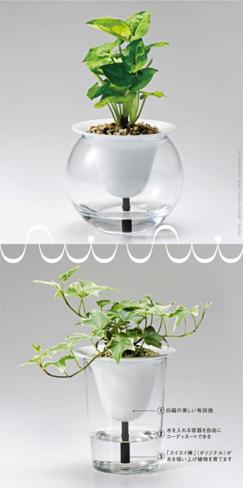 自動給水型プランター「スイスイ」