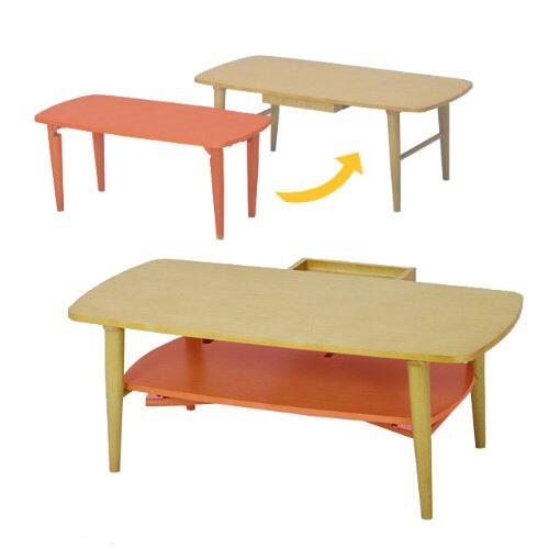 親子リビングテーブル