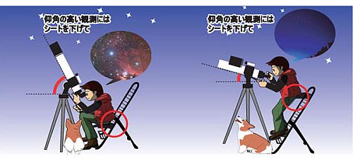 天体観測椅子 スターダストチェア