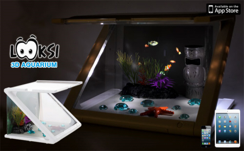 【日本正規代理店品】【iPadで楽しむ3Dアクアリウム】