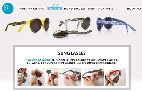 FULL SPOT SUNGLASSES