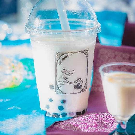 甘酒タピオカミルク