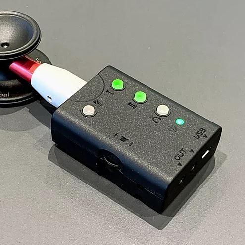 デジタル聴診デバイス「ネクステート」